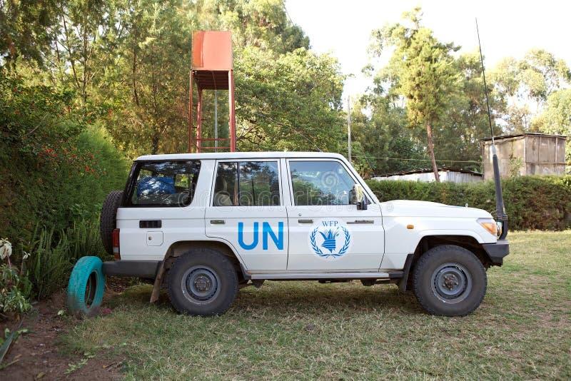 Автомобиль Организации Объединенных Наций стоковая фотография