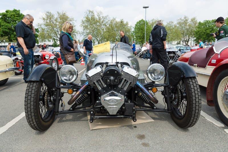 Автомобиль Морган 3, V-двойные 3-Уилеры стоковое изображение rf