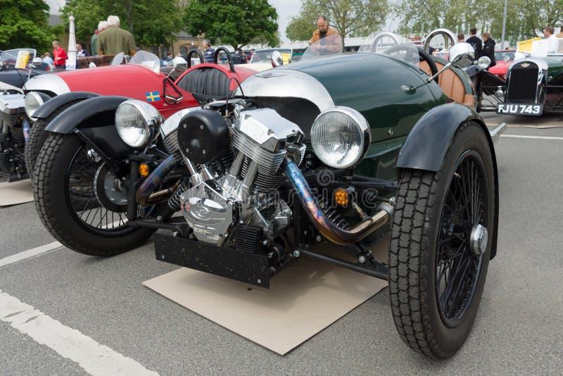Автомобиль Морган, V-двойные 3-Уилеры стоковые изображения