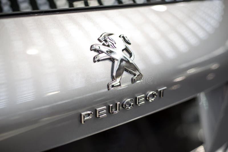 Автомобиль Пежо стоковое изображение