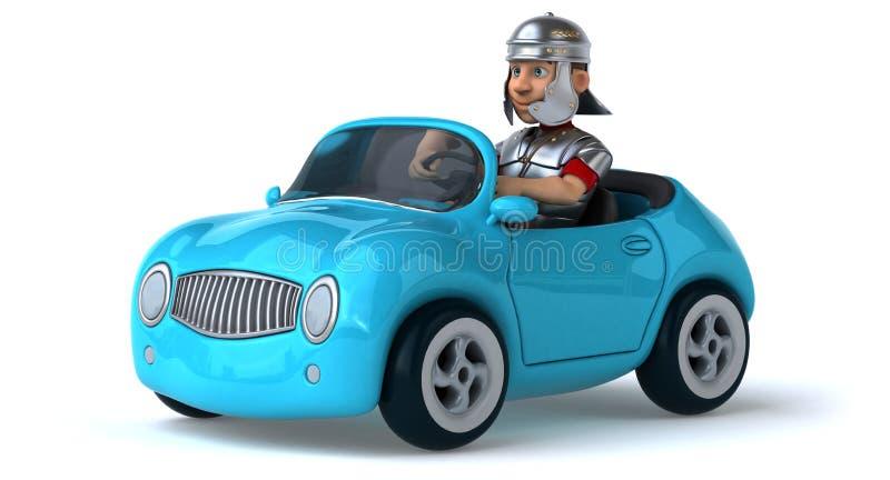 Автомобиль потехи иллюстрация вектора