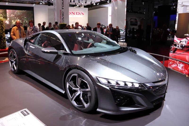 Download Автомобиль принципиальной схемы Honda NSX Редакционное Стоковое Фото - изображение насчитывающей германия, concept: 33725798