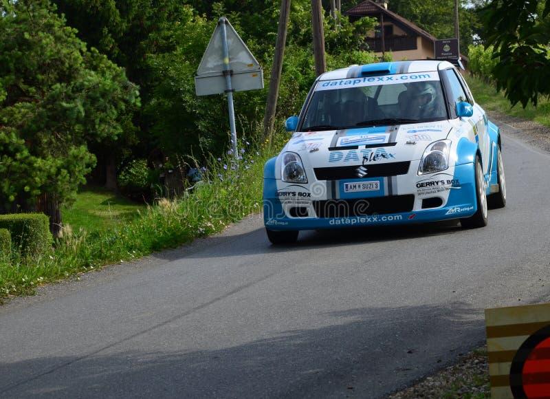 Автомобиль ралли Suzuki стоковые фото