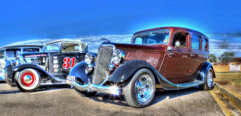 Автомобиль салона классических 1920s американский стоковое фото