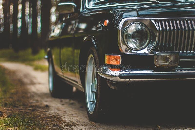 Автомобиль советских времен стоковое фото rf