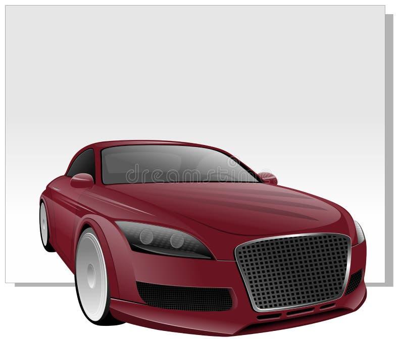 Автомобиль спорт вектора бесплатная иллюстрация