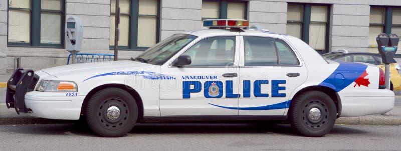 Автомобиль Управления полиции Ванкувера стоковое фото rf