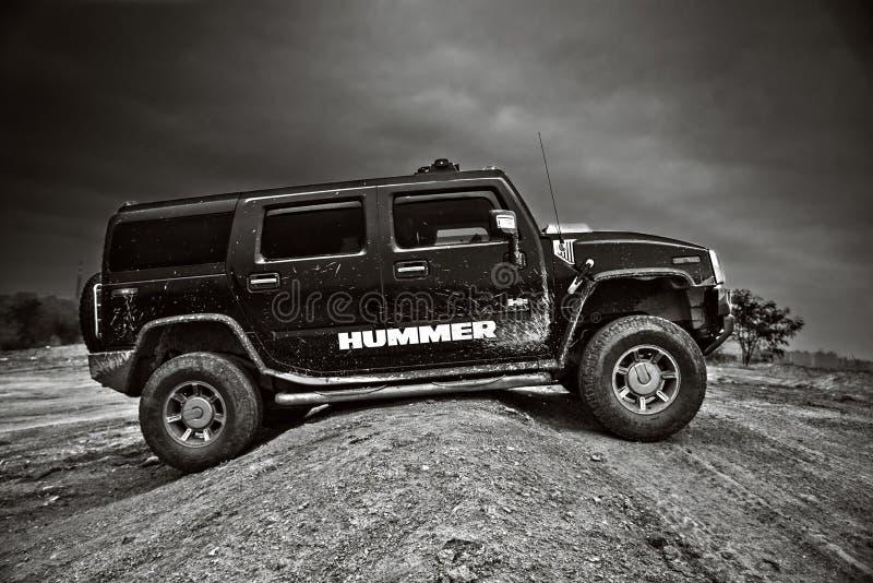 Автомобиль Хаммера H2 США стоковые изображения rf