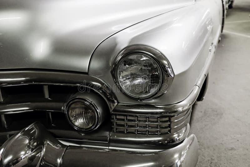 Автомобиль части серебряный винтажный стоковое фото rf