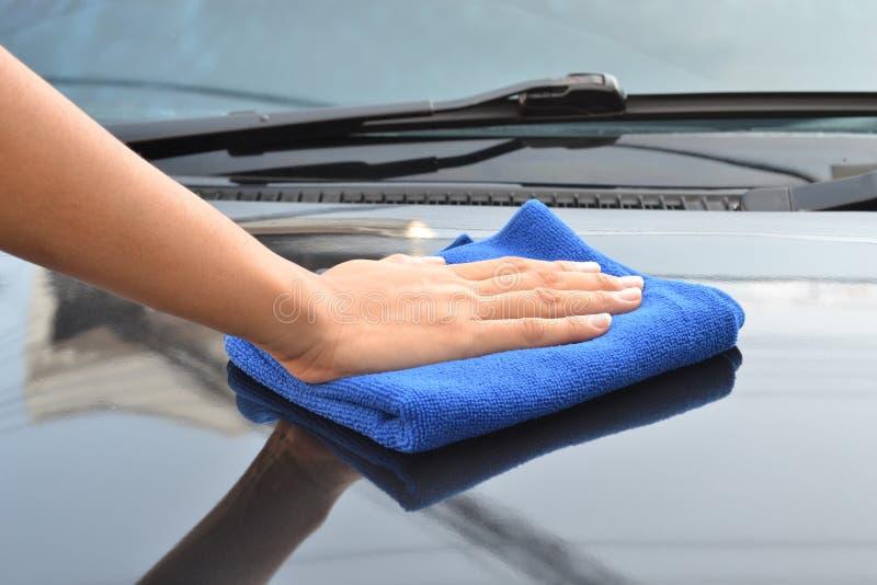 Автомобиль чистки стоковая фотография rf