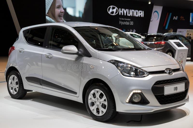 Автомобиль Hyundai i10 стоковое изображение