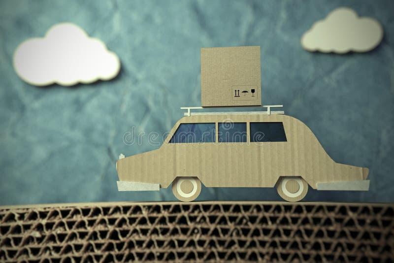 Автомобиль Origami иллюстрация вектора