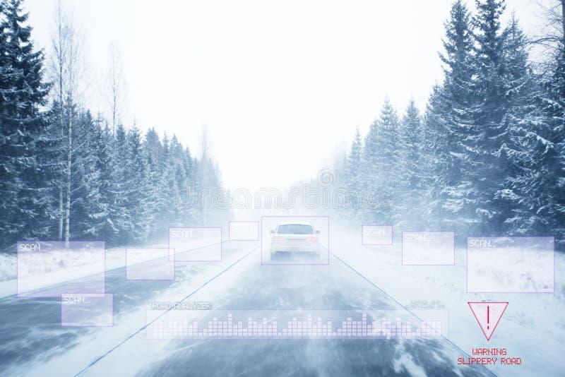 Автономный автомобиль стоковое изображение