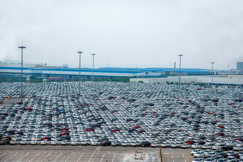 Автостоянка автомобиля товаров автомобиля Changan Форда стоковое изображение