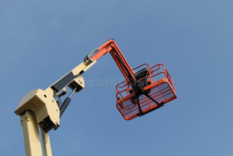 Автотелескопическая вышка стоковая фотография