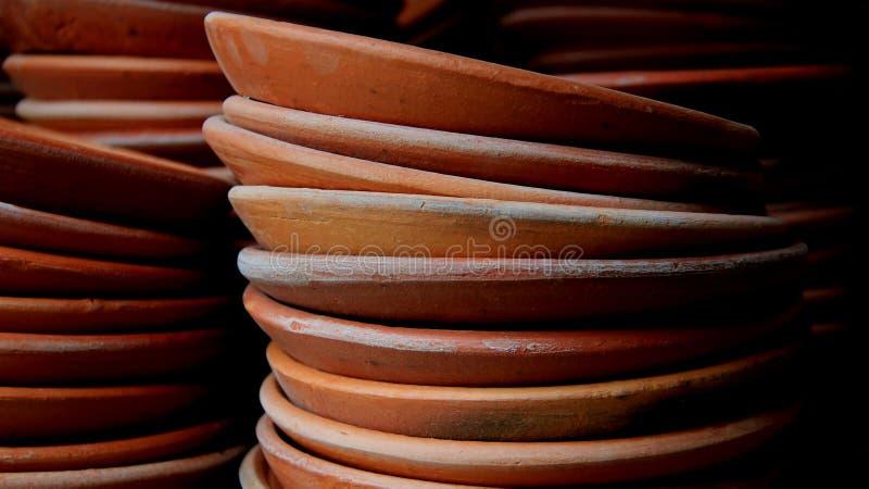 Агашко гончарни блюда стоковое изображение rf