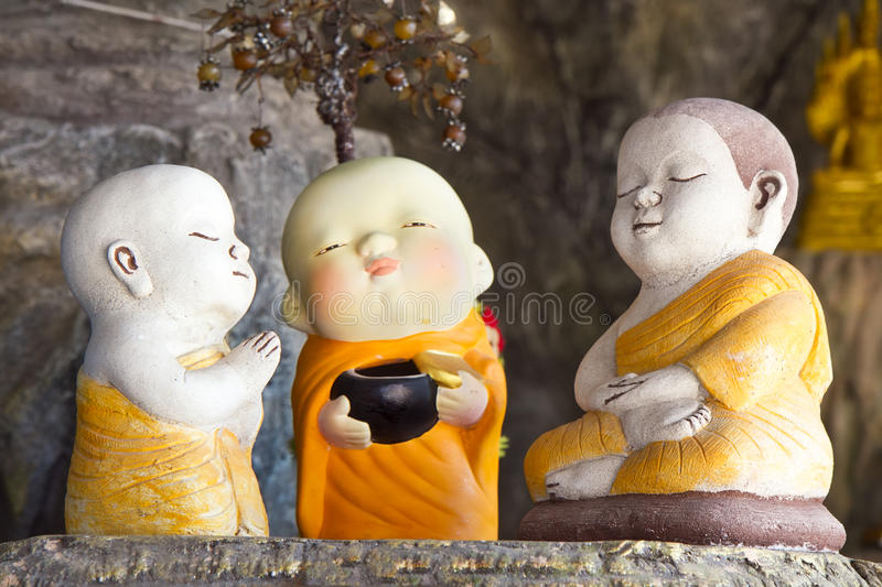 Агашко монаха ребенка стоковые фотографии rf