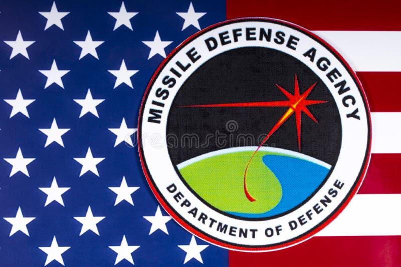 Агенство обороны ракеты США стоковое изображение rf