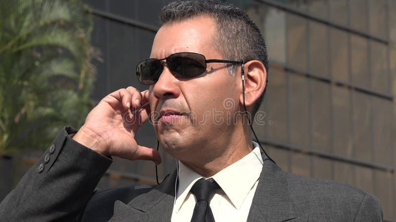 Агент ФБР или Nsa стоковое изображение