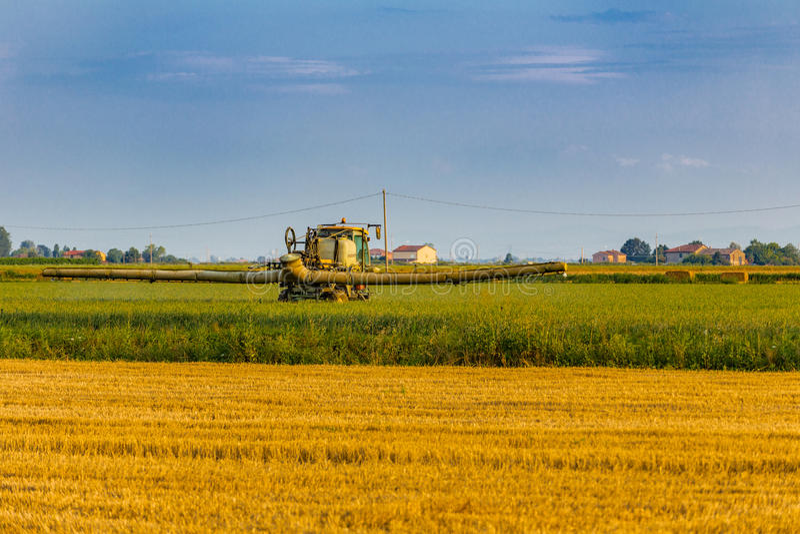 аграрная машина стоковая фотография rf
