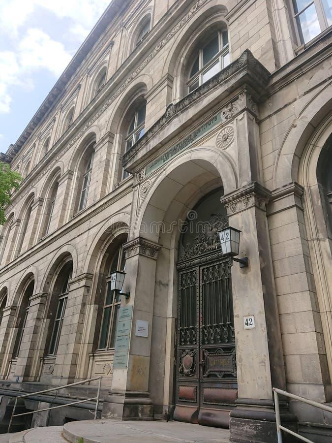 Аграрный институт университета Гумбольдта, Берлин, Германия стоковое фото rf