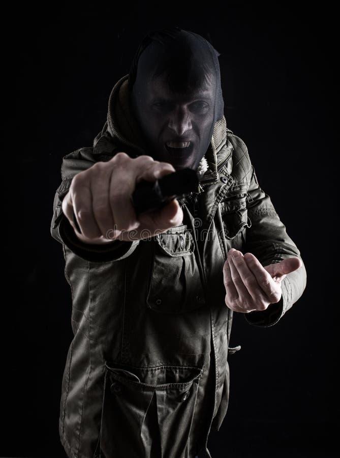 Агрессивное разбойничество стоковые фотографии rf