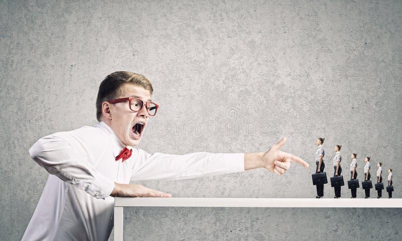 Download Агрессивный босс стоковое фото. изображение насчитывающей директор - 41650262