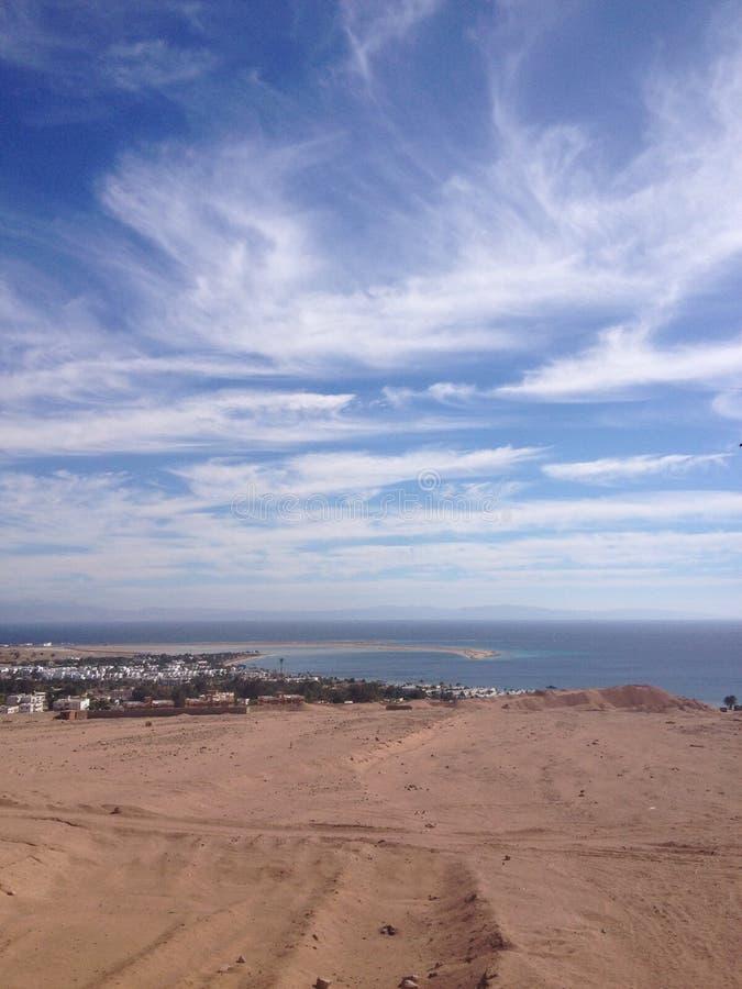 лагуна песка seascape стоковые изображения rf