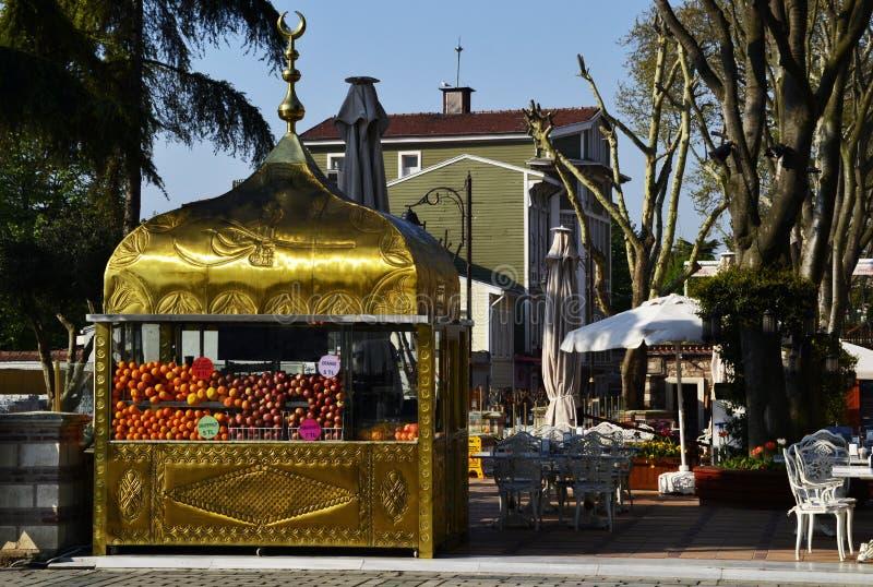 Адвокатура плода в турецком стиле, Стамбул, Турция стоковое изображение rf