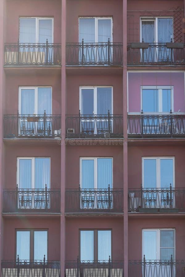 Администраривное администраривн офиса Картины Windows, вертикальная абстрактная съемка стоковое изображение rf
