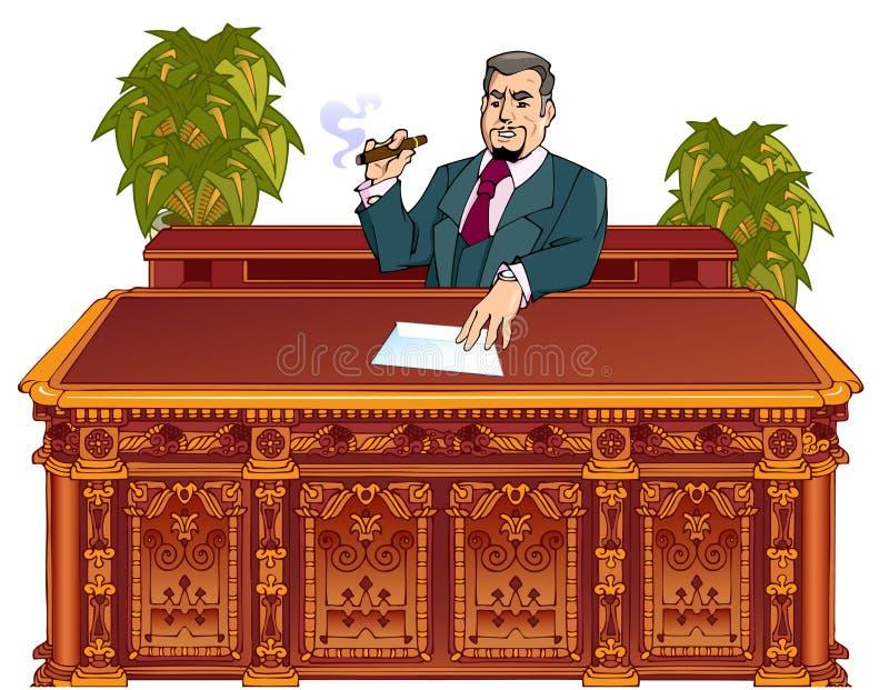 административний босс бесплатная иллюстрация