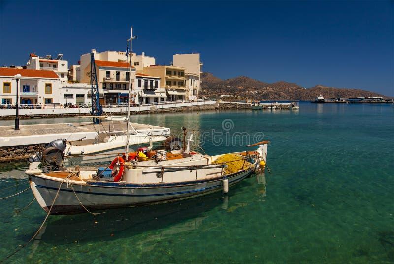 Ажио Nikolaos Крит стоковое изображение