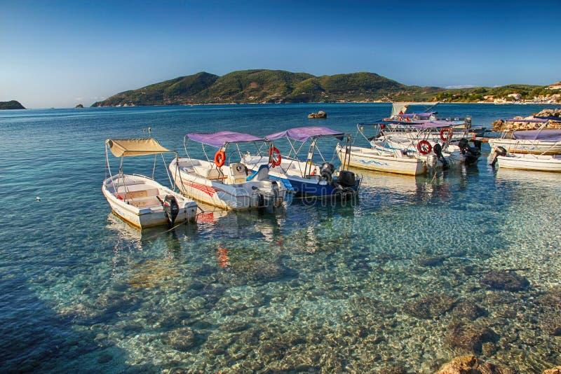 Ажио Sostis Zakyntos Греции стоковое изображение rf