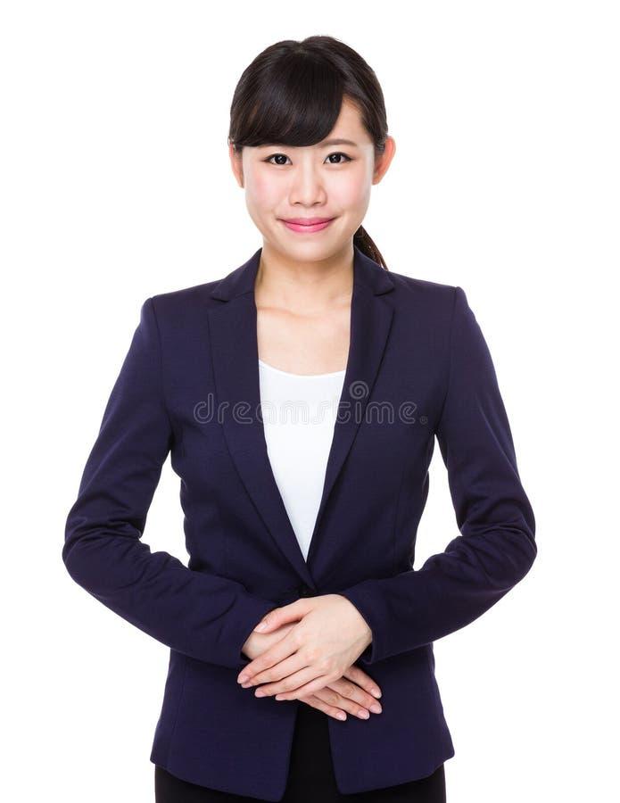 Азиатская бизнес-леди стоковые фото
