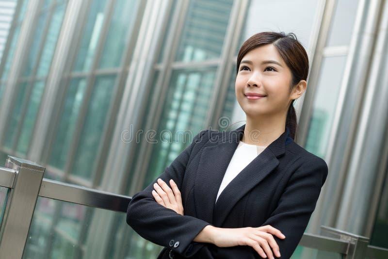 Азиатская бизнес-леди стоковая фотография rf