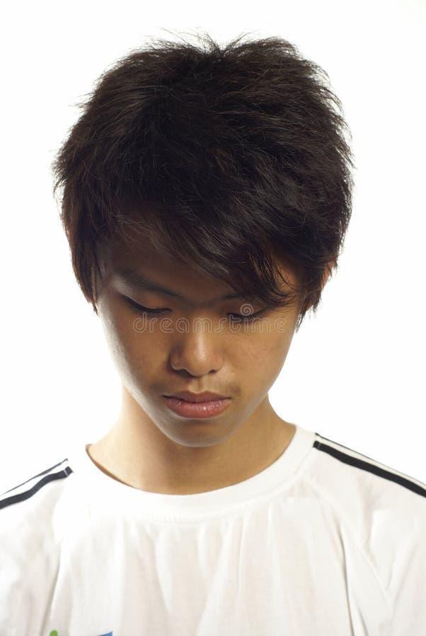 азиатская вниз ванта смотря предназначена для подростков стоковые изображения
