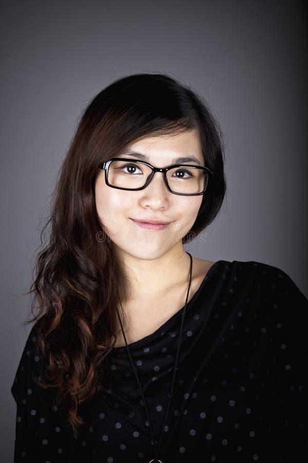 Азиатская женщина дела стоковые изображения