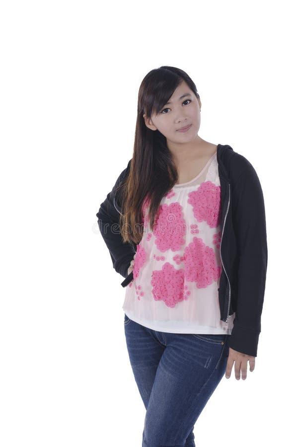 Азиатская женщина моды стоковые изображения
