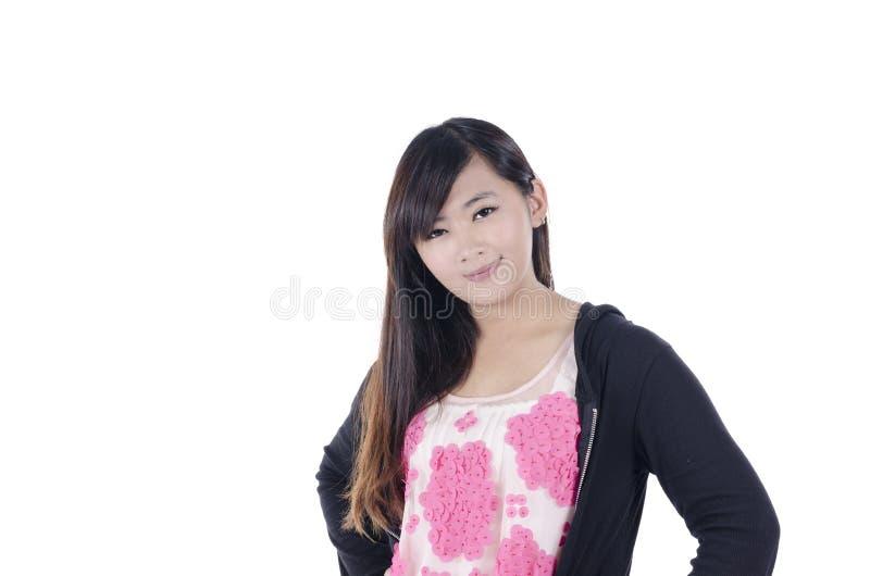 Азиатская женщина моды стоковая фотография rf
