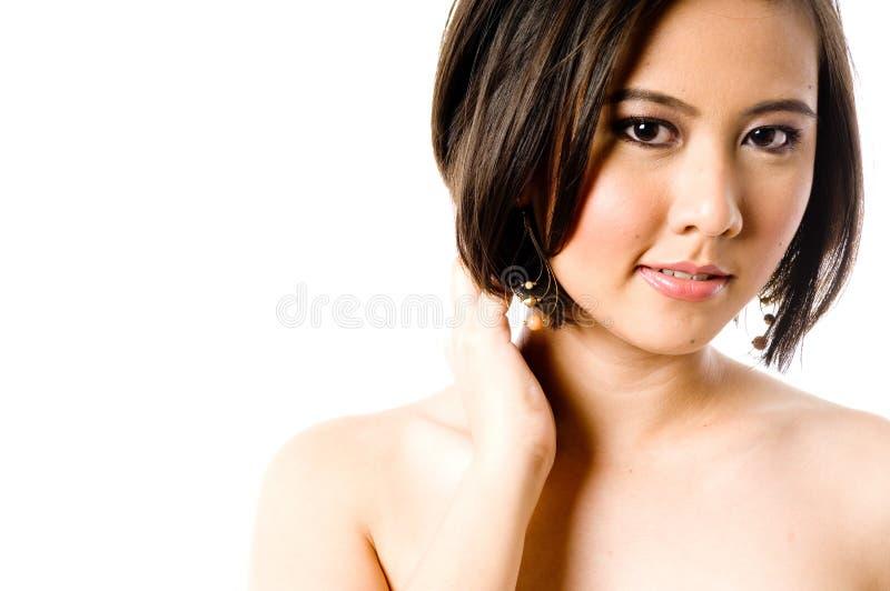 Азиатская женщина стоковая фотография