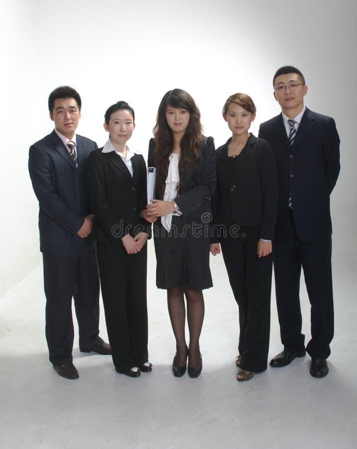 азиатская команда дела стоковое изображение rf