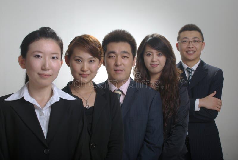 азиатская команда дела стоковая фотография
