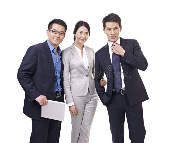 Азиатская команда дела стоковые фото