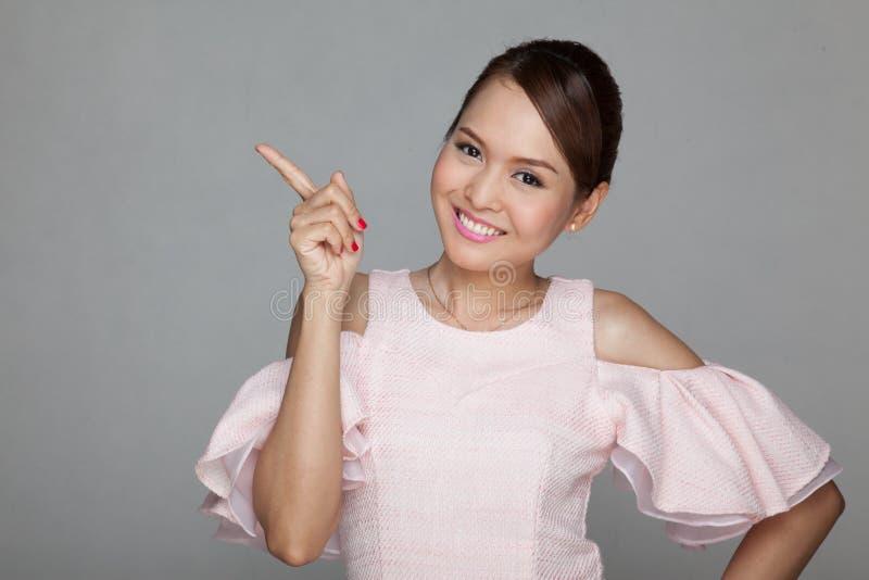 азиатская красивейшая девушка счастливая стоковая фотография rf