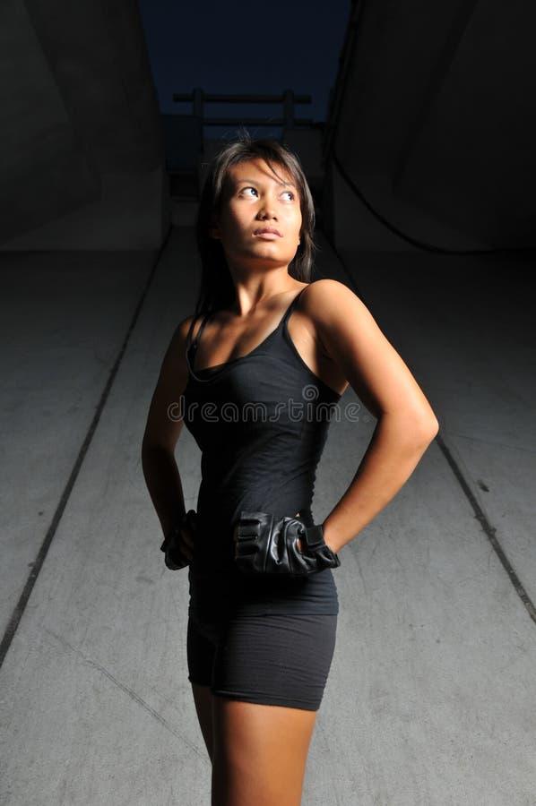 азиатская красивейшая женщина спортов стоковые изображения