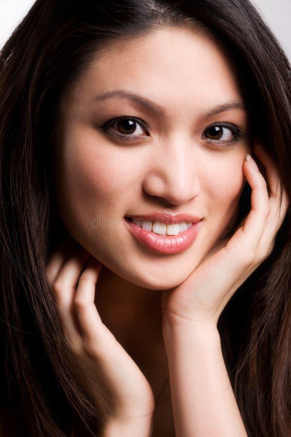 азиатская красивейшая женщина стоковое фото rf