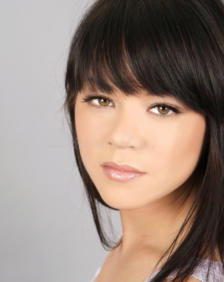 азиатская красивейшая женщина стоковое изображение rf