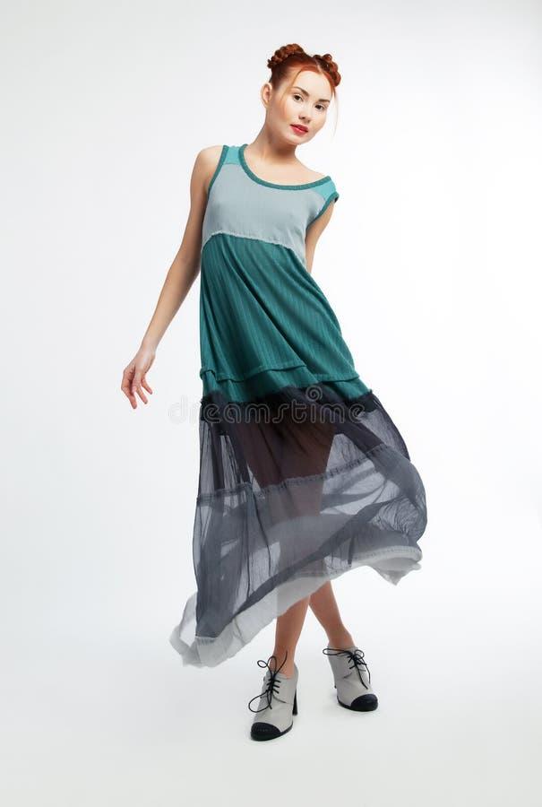 азиатская красивейшая модная мода типа девушки стоковые изображения rf