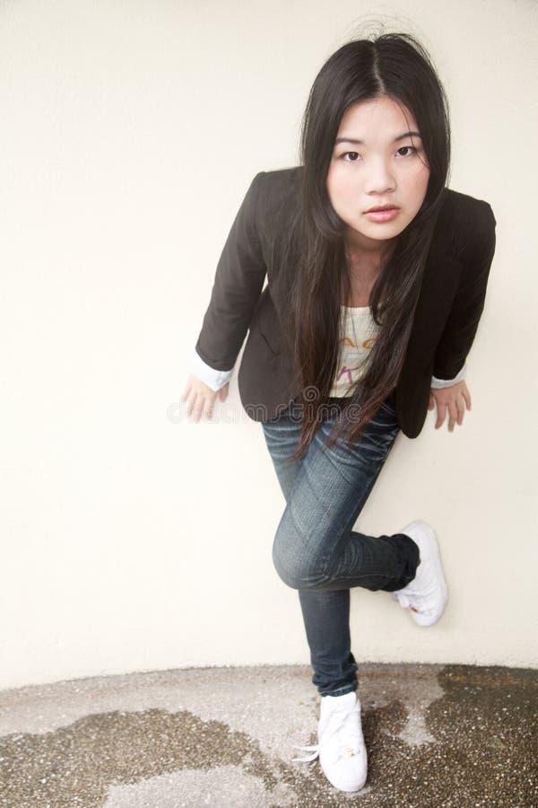 азиатская красивейшая черная девушка стоковые фото