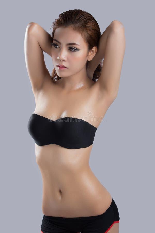 Азиатская красота, сексуальная модель женщины стоковые фото